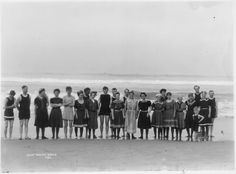 Read about Huntington Beach's 100 Years of Surfing at http://historichuntingtonbeach.blogspot.com/2014/06/1914-to-2014-huntington-beach-surfing.html  This photo was taken almost 100 years ago, in 1915!  Photo from the City of Huntington Beach archives.