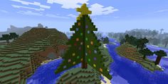 Christmas Tree in Minecraft I might make it better sooner or later, but don't expect anything.I'm tired and lazy christmas christ mas xmas x tree xmas. Christmas Tree Minecraft 1 of 2 Xmas, Christmas Tree, Christmas Ornaments, Minecraft 1, Pixel Art, Holiday Decor, Deviantart, Yule, Teal Christmas Tree