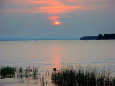 Lake Champlain at dawn Colchester Vermont, Beautiful World, Beautiful Places, Lake Champlain, Small World, Waterfalls, New England, Places Ive Been, Dawn