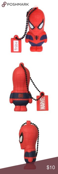 """Marvel Spiderman Collectible Figure 16GB USB Drive Officially licensed by Marvel from the movie """"The Amazing Spiderman"""" Collectible 3D sculpted figurine High Speed USB 2.0, Guaranteed Capacity: 16GB Maikaii Tribe Other"""