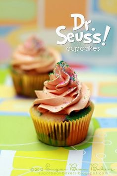 Sugar Bean Bakers: { Happy Birthday, Dr. Seuss! }