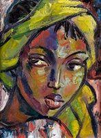 The yellow scarf by Hennie Niemann Jr.