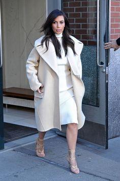 03b4c622c16 Kim Kardashian winter chic NYC street style Star Fashion