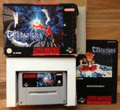 Terranigma Rare Super Nintendo SNES Game Complete Pal * Free UK Recorded Post