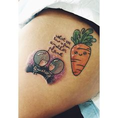 """""""Thank you Sophie ! Added the astronauts today and healed carrot """""""