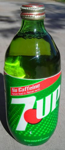 80s glass 7-Up.