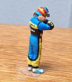 F1 Champion Fernando Alonso 2006 1 43 Scale Hand Painted Figure