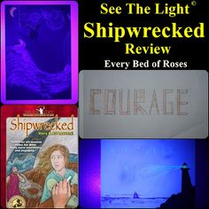 Shipwrecked by See The Light. Find out how this family used Shipwrecked from See The Light Shine. #homeschool #Art See pictures of all three classes.