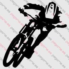Pegame.es Online Decals Shop  #bicycle #sport #mtb #downhill #vinyl #sticker #pegatina #vinilo #stencil #decal