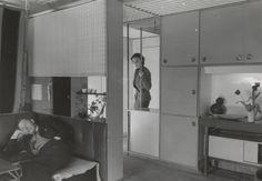 Apartment of Grete Prytz Kittelsen at Bygdøy Oslo, Norway, 1952