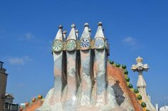 Beautiful chimneys, Barcelona
