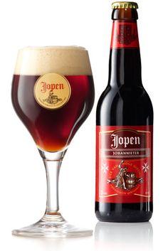 De recepten van het Jopenbier uit de Middeleeuwen zijn bewaard gebleven in het Noord-Hollands Archief. Het archief is gehuisvest in het voormalige Sint-Jansklooster in de Jansstraat in Haarlem. De kloosterorde die hier in de Middeleeuwen actief was, waren de Johannieter monniken, ook wel hospitaalridders genoemd. Deze monniken brouwden in het klooster ook bier, voor hun gasten en voor eigen gebruik. Johannieter is een zeer donker en krachtig zwaar bier, dat zeer voedzaam is.