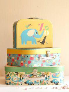 Set of 3 Suitcases, ZOO, Ingela P Arrhenius