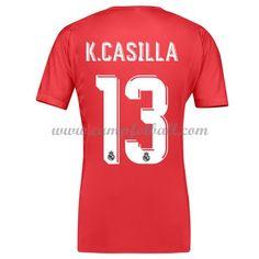 Real Madrid Fotballdrakter 2017-18 Casilla 13 Keeper Bortedrakt