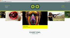 Giant Owl Productions designed by Alphabetical