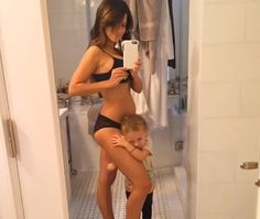 Looking Good!: Hilaria Baldwin Shows Off Her Stunning Post-Baby Body One Week After Welcoming Her Third Child — See the Pic!