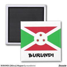 BURUNDI (Africa) Magnet