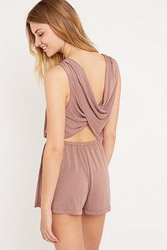 Silence + Noise - Combishort Too Twisted - Urban Outfitters