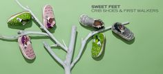 Sweet Feet: Crib Shoes & First Walkers - http://tieasy.net/sweet-feet-crib-shoes-first-walkers-2/