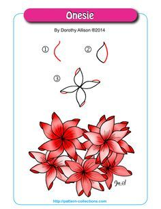 Art Therapy, Tangle Step, Zentangles Doodles, Zentangle Patterns