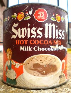Swiss Miss Hot Cocoa Mix (1976 container)