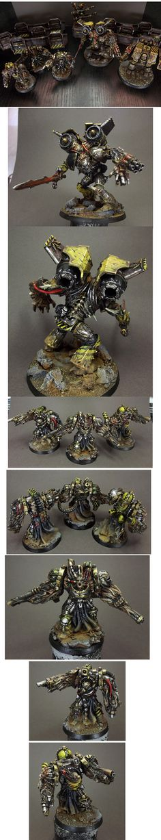 Chaos Space Marine Iron Warriors Army