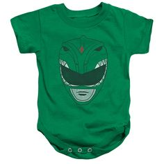 Shop for Power Rangers/Green Ranger Infant Snapsuit in Kelly Green. Get free delivery On EVERYTHING* Overstock - Your Online Children's Clothing Outlet Store! Boys Clothing Stores, Clothing Deals, Tommy Oliver, Green Ranger, Boys Online, Kelly Green, Baby Bodysuit, Baby Onesie, Power Rangers