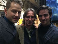 Josh Dallas, Robert Carlyle and Colin O'Donoghue on Once Upon a Time 100th episode red carpet - 20 February 2016