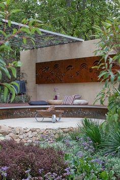 Laser cut steel wall art by www.entanglements.com.au