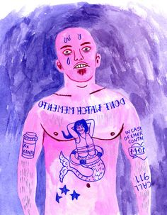 """NYT blog by a colbert show writer on tattoos for the terrified. Some excerpts:     """"— Wings on shoulder blades, captioned """"Not actually a bird"""" in case a hunter sees it.    — A chubby toddler. It would have been an angel, but heaven is merely a construct to distract us from the inevitability of death.    — Tub of Ben and Jerry's Chubby Hubby. To calm you down when you start thinking about whether heaven is merely a construct to distract us from the inevitability of death"""""""