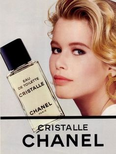 Chanel Cristalle - the first fragance I ever purchased for myself