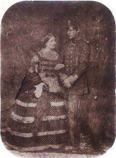 Their Majesties Dom Pedro V and Dona Estefania of Portugal.