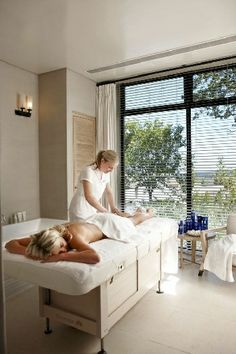 Spa treatment at Delaire Graff, Stellenbosch, South Africa