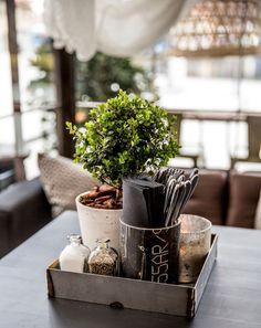 Rustic | plant | coffee #decor