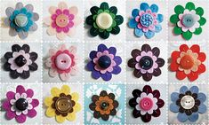 Similar to what we will be making at the Pop up shop on Thursday @Karen Darling Factory #diyandcrafts #flowers #felt