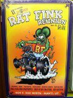 "Rat Fink by Ed ""Big Daddy"" Roth"