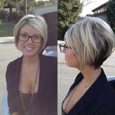 une coupe de cheveux de ligne