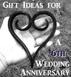 Gift Ideas for a 6th Wedding Anniversary