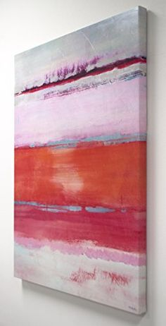 5d0cd4610d7 Kate and Laurel Omar Abstract 30in x 40in Multicolored Gel Coated Canvas  Wall Art Kate and