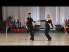 2012 US Open Swing Dance Championships -  Classic Division Champions: Jordan Frisbee and Tatiana Mollmann.  Absolutely, positively LOVE them. Musicality and ease of movement are INSANE. <3 me some west coast!