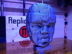 Olmec Colossal Head by PrettySmallThings