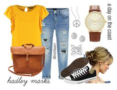 """""""Hadley Marks - A Day on the Coast"""" by hislilbearrr on Polyvore"""