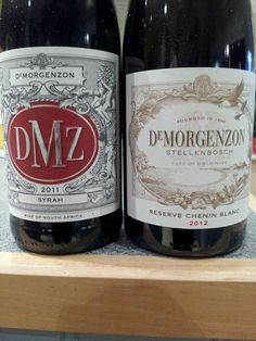 """""""So which of these lovely De Morgenzon wines will I open for NEXT Chenin Blanc, Beer Bottle, Wines, Canning, African, Twitter, Beer Bottles, Home Canning, Conservation"""