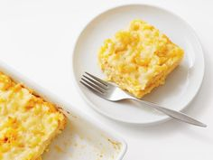 Get Bake-and-Slice Macaroni and Cheese Recipe from Food Network
