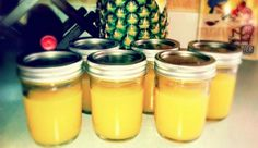 Bombshell Spell - 1 tbsp Apple Cider Vinegar, Unfiltered, Organic, 4 oz Hawaiian Pineapple Juice, 1 tbsp Organic Honey