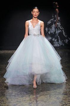 Lazaro vestido de novia colección Otoño - Invierno 2014/2015.