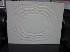 Embossing with the Framelits tutorial