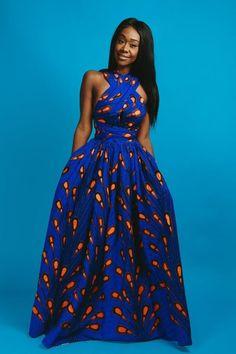 African Fashion Ankara, Latest African Fashion Dresses, African Print Fashion, Africa Fashion, African Prints, African Style Clothing, African Print Skirt, African Fabric, African American Fashion