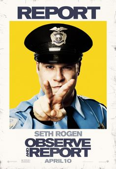 Return to the main poster page for Observe and Report (#3 of 5)