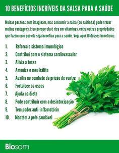 Veja aqui os 18 e mais, benefícios da salsa. http://yamechanic.com/FG8j